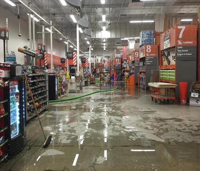 Water Loss at Home Depot